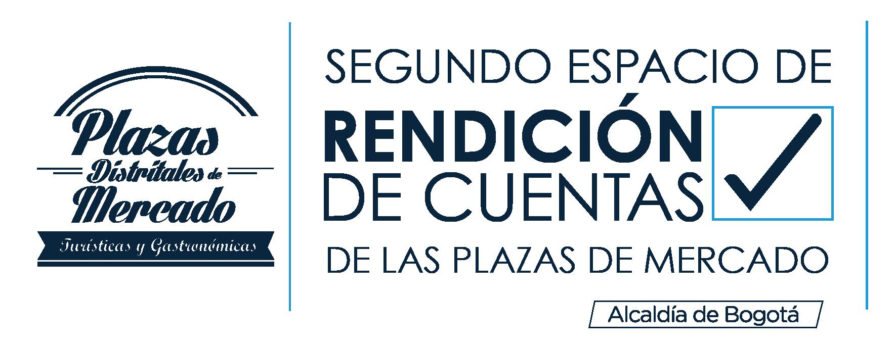 Rendición de cuentas Plazas de Mercado IPES