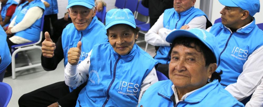 25 módulos para adultos mayores y/o personas en condición de discapacidad entrega Alcaldía de Bogotá