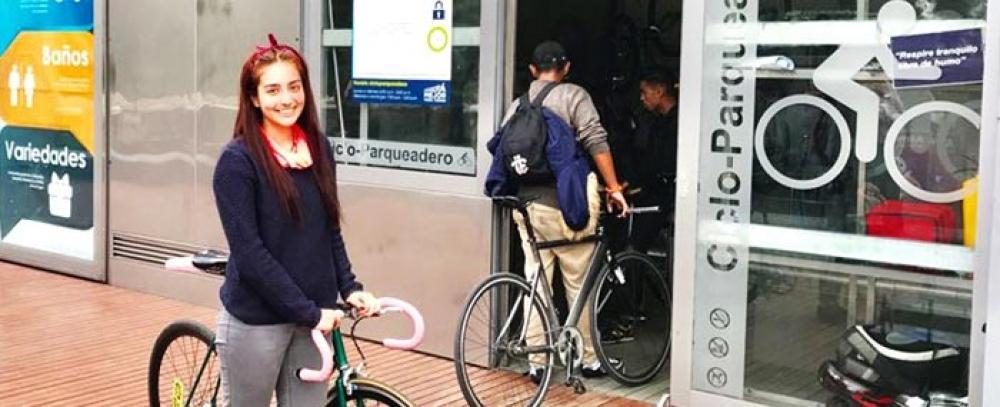 Alcaldía mayor pone en servicio Biciparqueadero Las Aguas