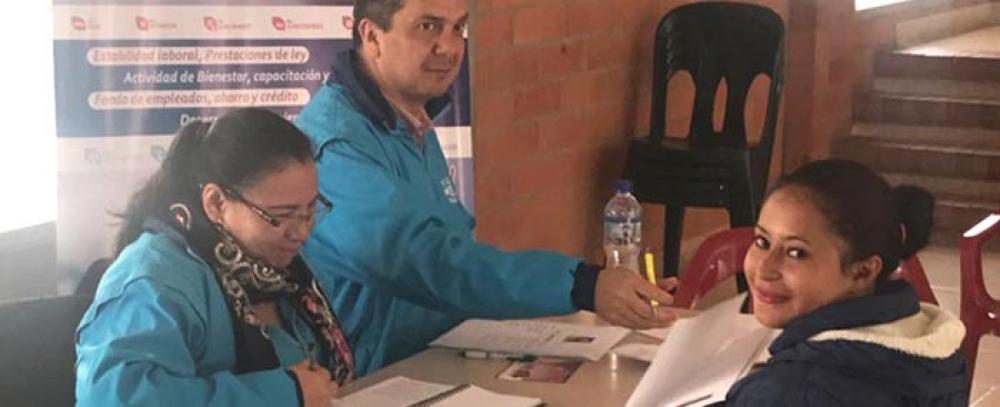 Rueda de empleo y capacitación en San Cristóbal