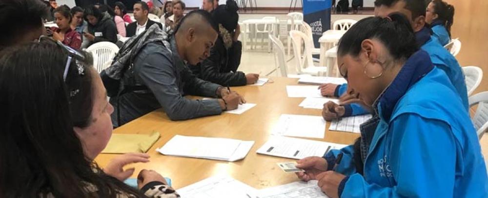 Alcaldía de Bogotá oferta 150 vacantes de empleo para vendedores informales de la localidad de Usaquén