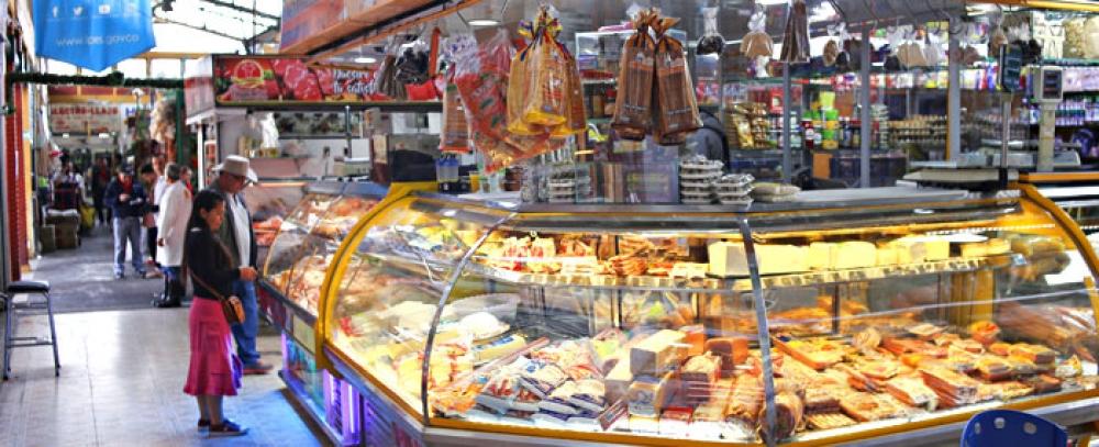 Distrito oferta puestos de venta en Plazas Distritales de Mercado