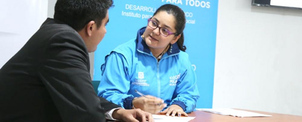 Alcaldía de Bogotá entregará beneficios crediticios a vendedores informales