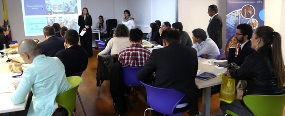 IPES presenta la alternativa de Emprendimiento Social a entidades de Gobierno Nacional