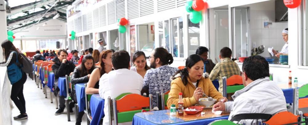 Nueva plazoleta de comidas en Plaza Distrital de Mercado 20 de Julio