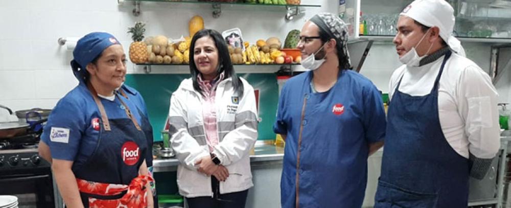 Personería de Bogotá realizó recorrido en Plazas Distritales de Mercado