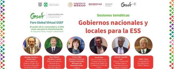 En representación de Colombia, IPES participó en el Foro Virtual Global de la Economía Social - GSEF