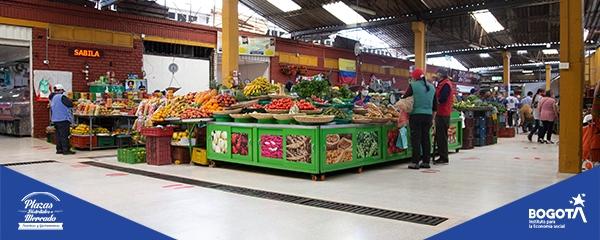 Aforos permitidos en nuestras Plazas Distritales de Mercado