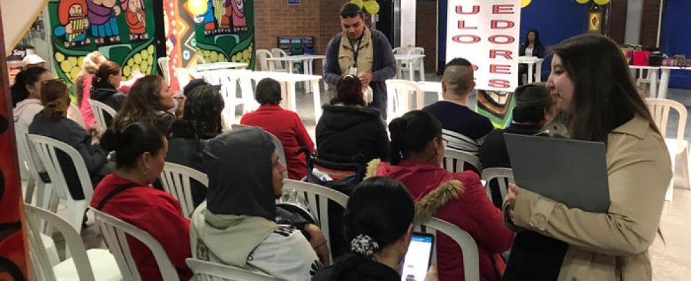 Beneficiarios del IPES participaron en círculo de proveedores