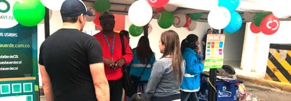 Gran jornada de Reciclatón en las plazas Restrepo y Santander