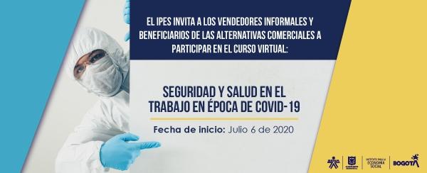 """Abiertas las inscripciones para el curso virtual de """"Seguridad y Salud en el trabajo en época de COVID-19"""