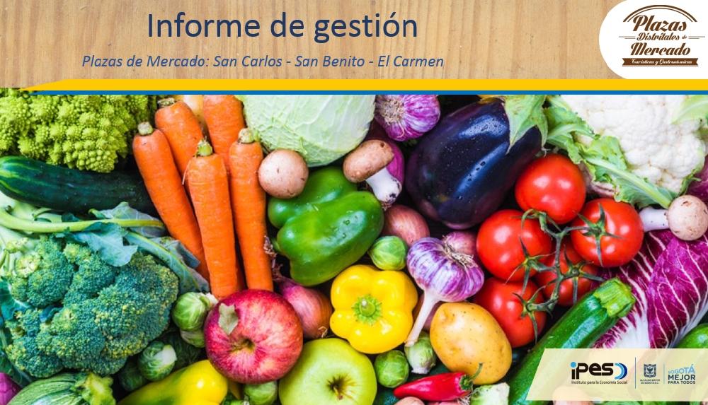 IPES informa su gestión en plazas distritales de mercado de la localidad de Tunjuelito