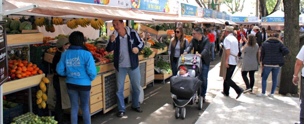 Las plazas distritales de mercado presentes en Alimentarte