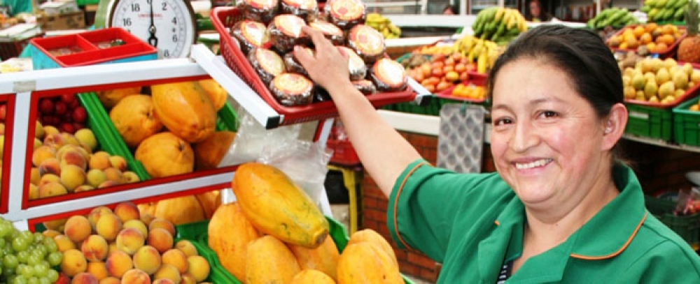 Oferta de espacios disponibles en las plazas distritales de mercado de la ciudad