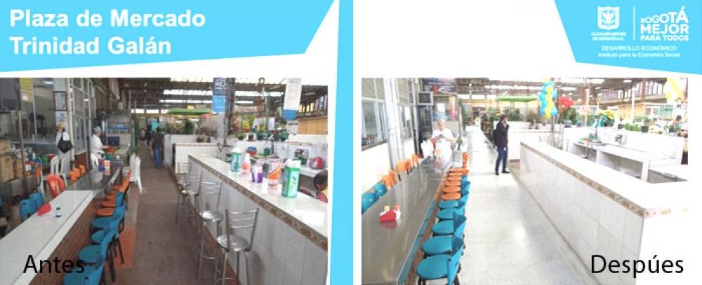 Plazas Distritales de Mercado, una experiencia de olores, sabores y encuentro con el campo