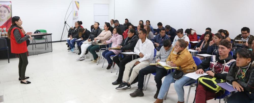 Taller de orientación para el empleo dirigida a vendedores informales
