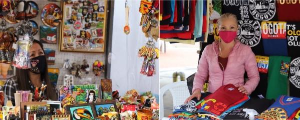 120 artesanos de la localidad de Usaquén se reactivan con las ventas informales